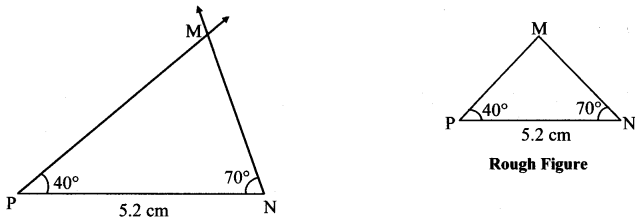 Maharashtra Board Class 7 Maths Solutions Chapter 1 Geometrical Constructions Practice Set 4 2