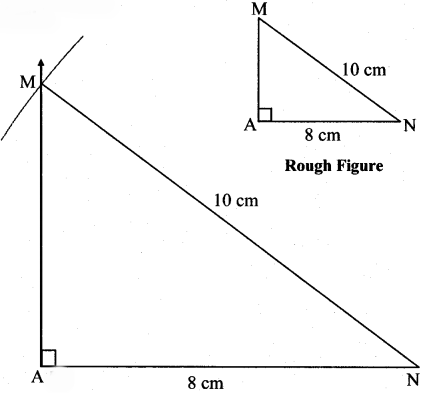 Maharashtra Board Class 7 Maths Solutions Chapter 1 Geometrical Constructions Practice Set 5 1