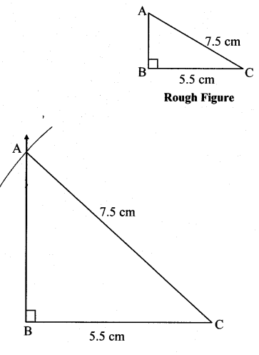 Maharashtra Board Class 7 Maths Solutions Chapter 1 Geometrical Constructions Practice Set 5 3