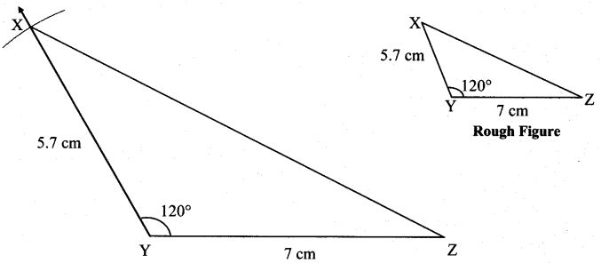 Maharashtra Board Class 7 Maths Solutions Chapter 1 Geometrical Constructions Practice Set 5 6