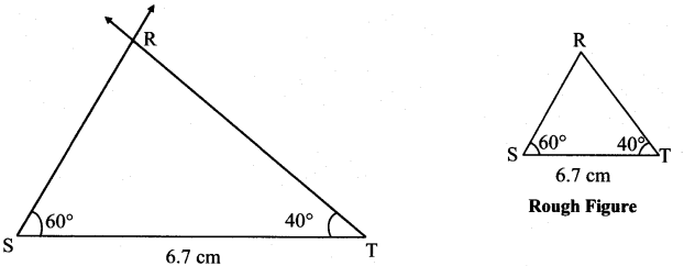 Maharashtra Board Class 7 Maths Solutions Chapter 1 Geometrical Constructions Practice Set 5 7