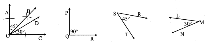 Maharashtra Board Class 7 Maths Solutions Chapter 1 Geometrical Constructions Practice Set 7 1