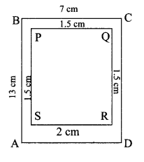Maharashtra Board Class 7 Maths Solutions Chapter 12 Perimeter and Area Practice Set 45 3