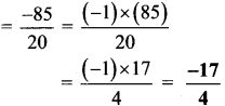 Maharashtra Board Class 7 Maths Solutions Chapter 2 Multiplication and Division of Integers Practice Set 9 5