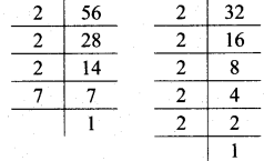 Maharashtra Board Class 7 Maths Solutions Chapter 3 HCF and LCM Practice Set 12 2