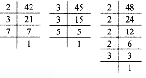 Maharashtra Board Class 7 Maths Solutions Chapter 3 HCF and LCM Practice Set 12 7
