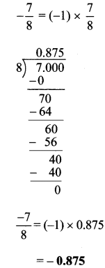 Maharashtra Board Class 7 Maths Solutions Chapter 5 Operations on Rational Numbers Practice Set 24 2