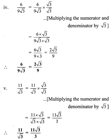 Maharashtra Board Class 9 Maths Solutions Chapter 2 Real Numbers Practice Set 2.3 26