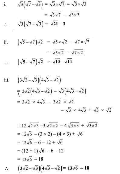 Maharashtra Board Class 9 Maths Solutions Chapter 2 Real Numbers Practice Set 2.4 2