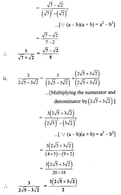 Maharashtra Board Class 9 Maths Solutions Chapter 2 Real Numbers Practice Set 2.4 5