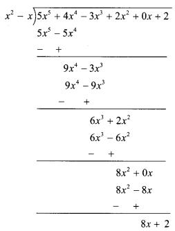 Maharashtra Board Class 9 Maths Solutions Chapter 3 Polynomials Practice Set 3.2 2