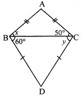 Maharashtra Board Class 9 Maths Solutions Chapter 3 Triangles Practice Set 3.3 1