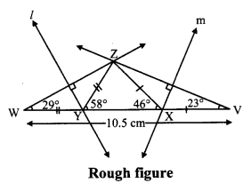 Maharashtra Board Class 9 Maths Solutions Chapter 4 Constructions of Triangles Practice Set 4.3 3