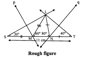 Maharashtra Board Class 9 Maths Solutions Chapter 4 Constructions of Triangles Practice Set 4.3 5
