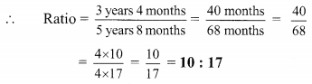 Maharashtra Board Class 9 Maths Solutions Chapter 4 Ratio and Proportion Practice Set 4.1 3