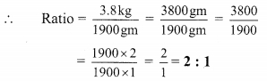 Maharashtra Board Class 9 Maths Solutions Chapter 4 Ratio and Proportion Practice Set 4.1 4
