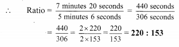 Maharashtra Board Class 9 Maths Solutions Chapter 4 Ratio and Proportion Practice Set 4.1 5