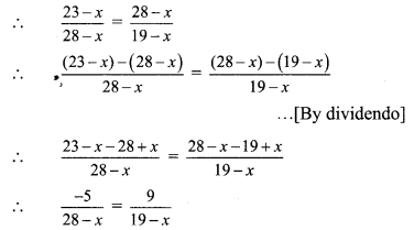 Maharashtra Board Class 9 Maths Solutions Chapter 4 Ratio and Proportion Practice Set 4.5 2