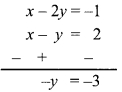 Maharashtra Board Class 9 Maths Solutions Chapter 5 Linear Equations in Two Variables Problem Set 5 11