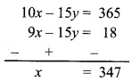 Maharashtra Board Class 9 Maths Solutions Chapter 5 Linear Equations in Two Variables Problem Set 5 14