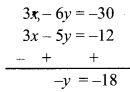 Maharashtra Board Class 9 Maths Solutions Chapter 5 Linear Equations in Two Variables Problem Set 5 3