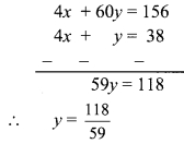Maharashtra Board Class 9 Maths Solutions Chapter 5 Linear Equations in Two Variables Problem Set 5 7