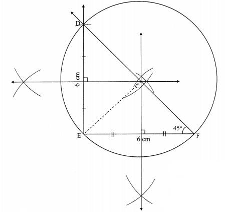 Maharashtra Board Class 9 Maths Solutions Chapter 6 Circle Practice Set 6.3 10