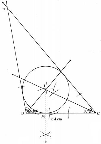 Maharashtra Board Class 9 Maths Solutions Chapter 6 Circle Practice Set 6.3 2