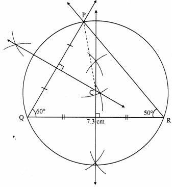 Maharashtra Board Class 9 Maths Solutions Chapter 6 Circle Practice Set 6.3 4