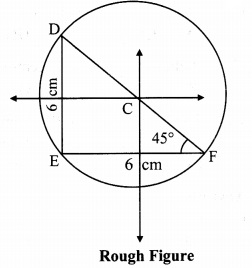 Maharashtra Board Class 9 Maths Solutions Chapter 6 Circle Practice Set 6.3 9