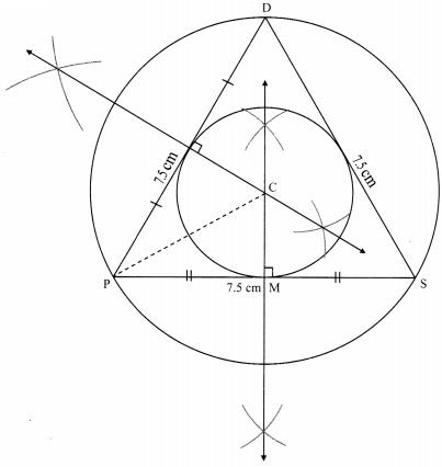 Maharashtra Board Class 9 Maths Solutions Chapter 6 Circle Problem Set 6 5