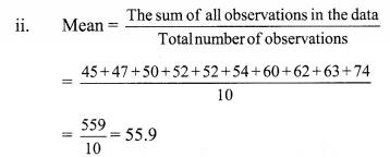 Maharashtra Board Class 9 Maths Solutions Chapter 7 Statistics Problem Set 7 10